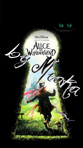 Alice in Wonderland (2010) wallpaper called Alice In Wonderland Promo Poster # 1