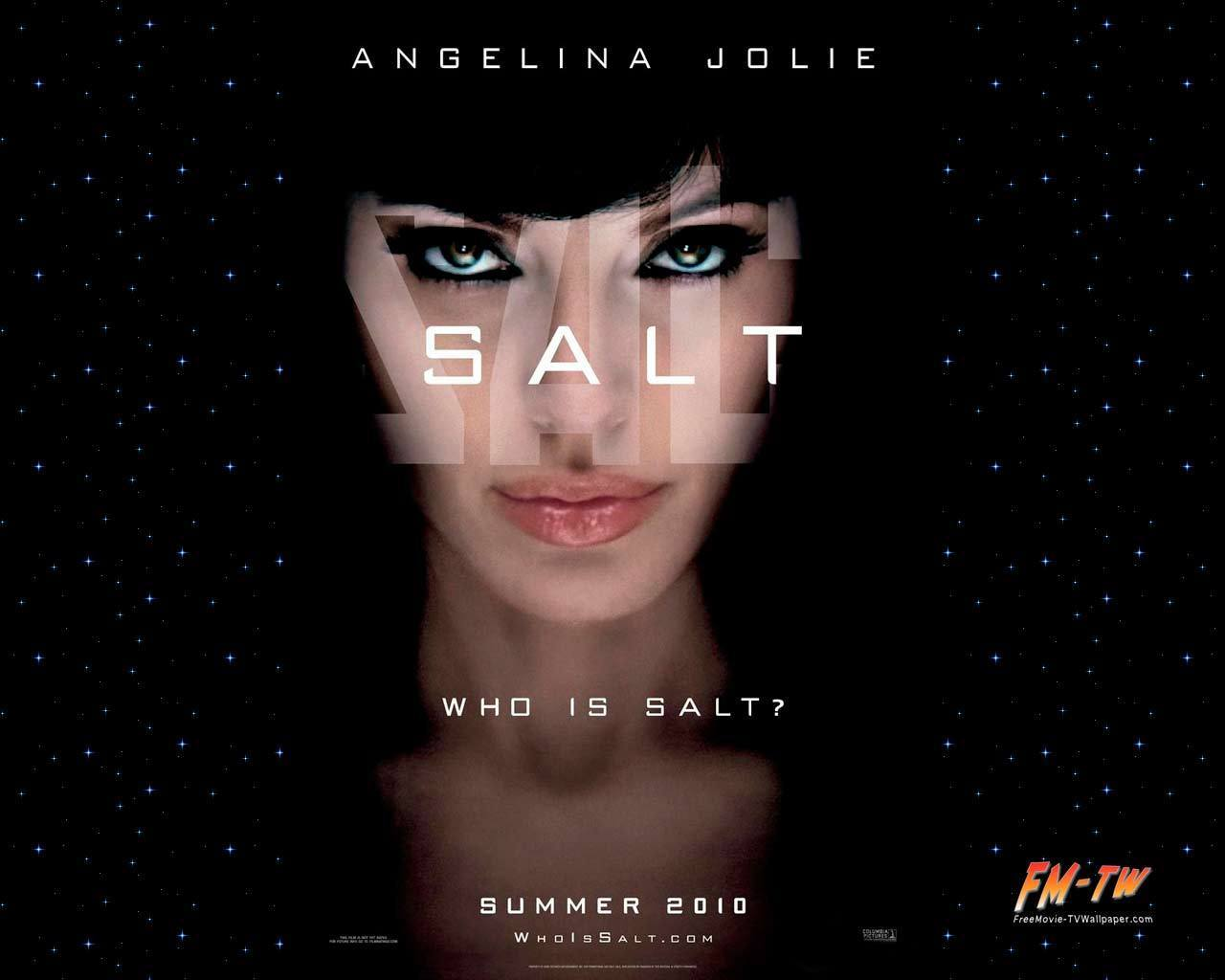 Angelina Jolie from the movie Salt - Poster - Angelina ...