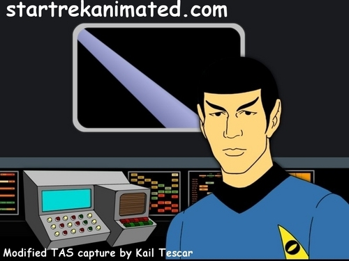 Animated Spock! =D