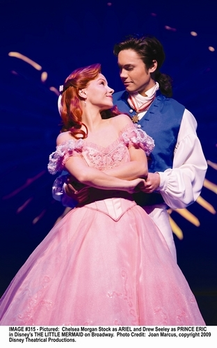 Ariel and Eric wallpaper entitled Ariel & Eric-Broadway!!