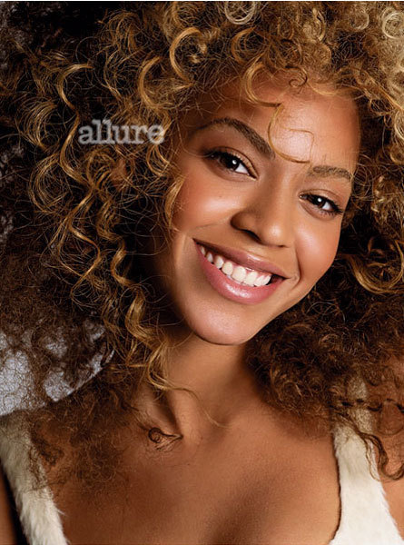 Beyonce in Allure Magazine