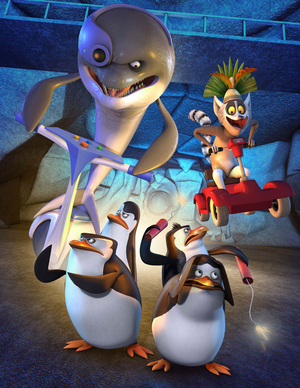 Blowhole, Penguins and Julian