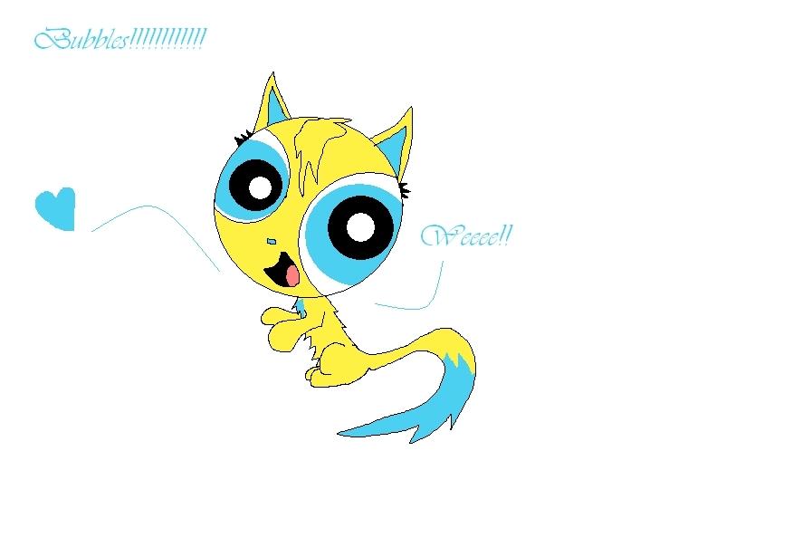 Bubbles kitty
