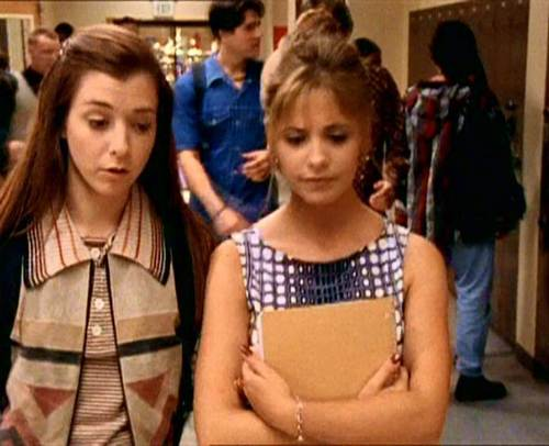 Buffy and Willow
