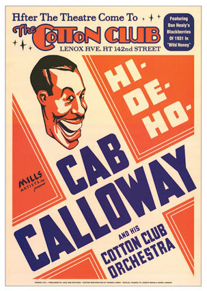 Jazz wallpaper entitled Cab Calloway (show poster)
