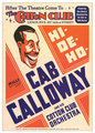 Cab Calloway (show poster) - jazz fan art