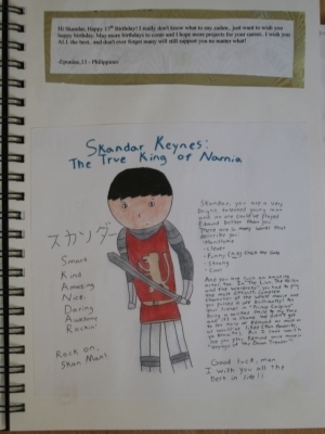 Candids / Misc > Scrapbook for Skandar's 17th Birthday
