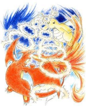 Charizard vs Dragonite