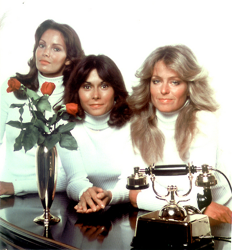 Charlie's Angels 1976 wallpaper entitled Charlie's Angels