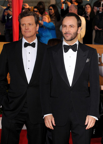 Colin Firth at the 16th Annual Screen Actors Guild Awards