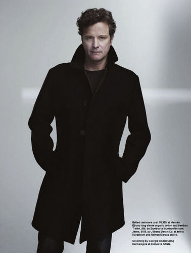 Colin Firth wallpaper entitled Colin Firth in Manhattan magazine