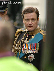 Colin Firth wallpaper entitled Colin Firth on set of The King's Speech