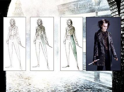 Colleen's costume designs
