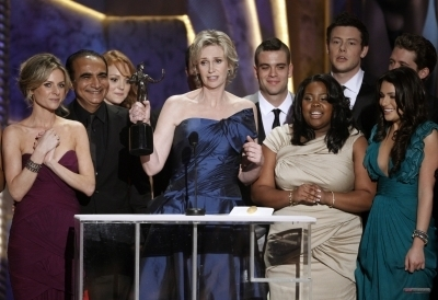 Cory and ग्ली Cast Win SAG Award