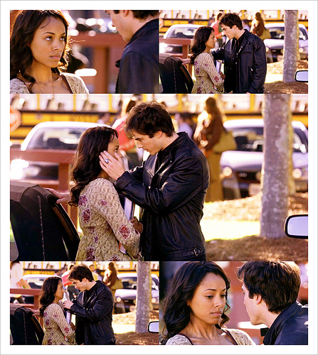 Damon and Bonnie - 1x09 History Repeating picspam
