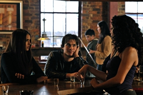 Damon and Elena - ian-somerhalder-and-nina-dobrev Photo