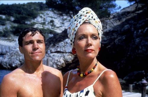 Diana Rigg and Nicholas Clay