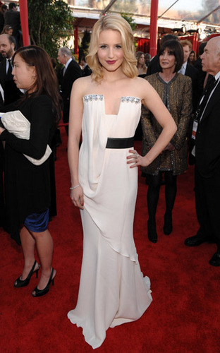 Dianna at SAG awards