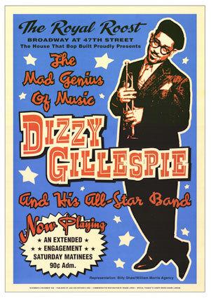 Dizzy Gillespie (show poster)