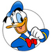 Donald Duck - disney-channel-world icon