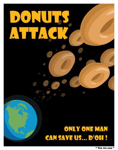 도넛 Attack !