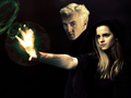 Draco and Hermione - dramione wallpaper
