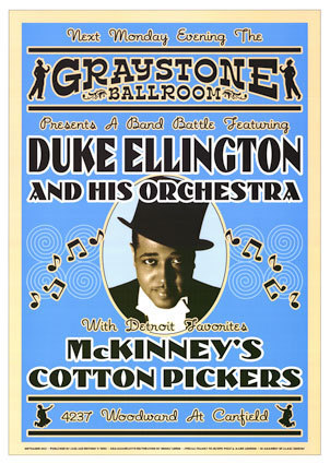 Jazz wallpaper entitled Duke Ellington (show poster)