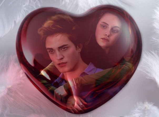 Edward & Bella - twilight-series fan art