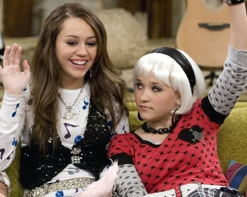 Emily Osment & Miley Cyrus