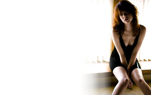 Emma Stone Widescreen 壁纸