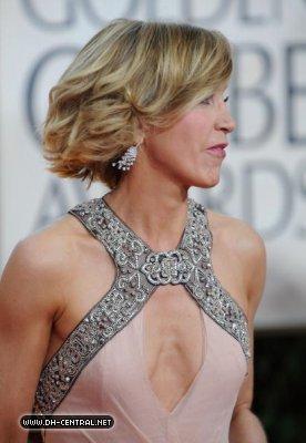 Felicity Huffman - Golden Globes 2010