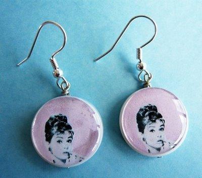 Audrey Hepburn Earings !