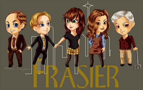 Frasier as chibis