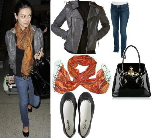 Mila Kunis and Kristen Stewart wallpaper called Getthelook_mila