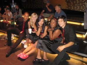 Glee Behind the Scenes