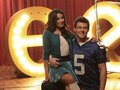 Glee - Promotional photos [Behind the Scenes] - Cory and Lea