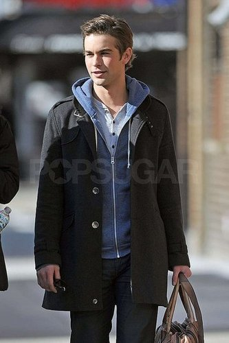 Gossip Girl on-set