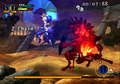 Gwendolyn and Unicorn knight - odin-sphere screencap