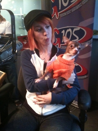 Hayley and Presley at G105