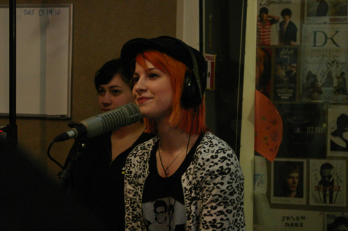 "Hayley in ""Kidd Kraddick In The Morning"""