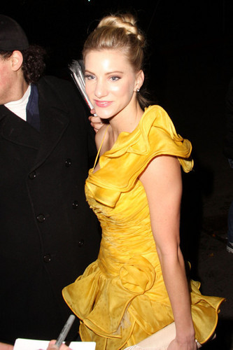 Heather Morris outside castillo, chateau Marmont after the SAG awards