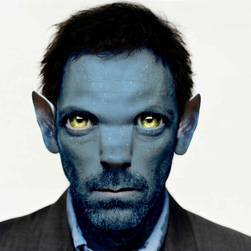 Dr. Gregory House karatasi la kupamba ukuta entitled House/Avatar Crossover