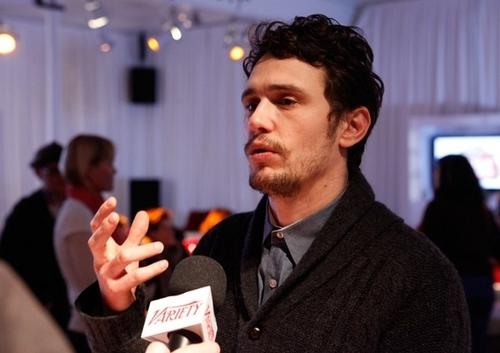 James @ Variety Studio At Sundance - 日 1
