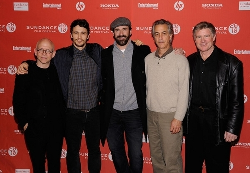 """James @ the """"Howl"""" Premiere"""