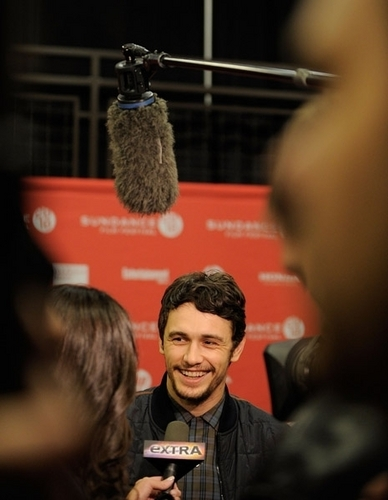 "James @ the ""Howl"" Premiere"