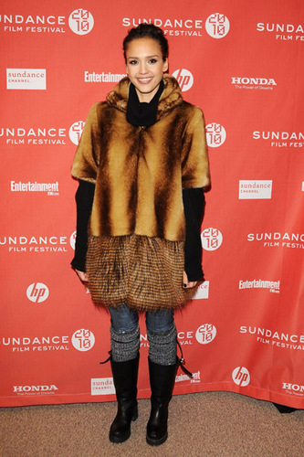 Jessica @ 2010 Sundance Film Festival