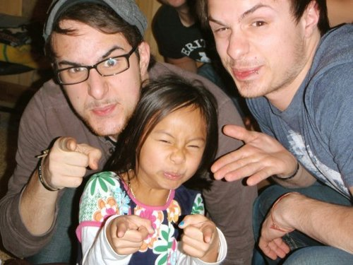 Josh and Zac (Trip to China)