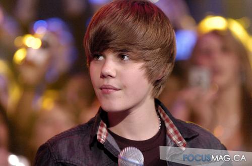 Justin Bieber at Much Music