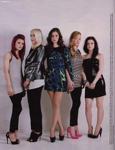Kat & Lily and girls Stella Mag