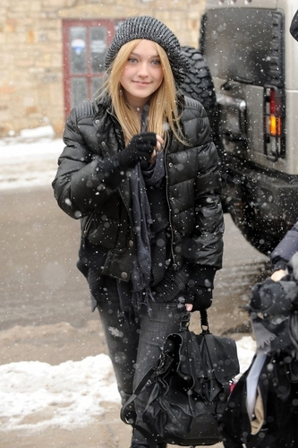 Kristen And Dakota At Sundance